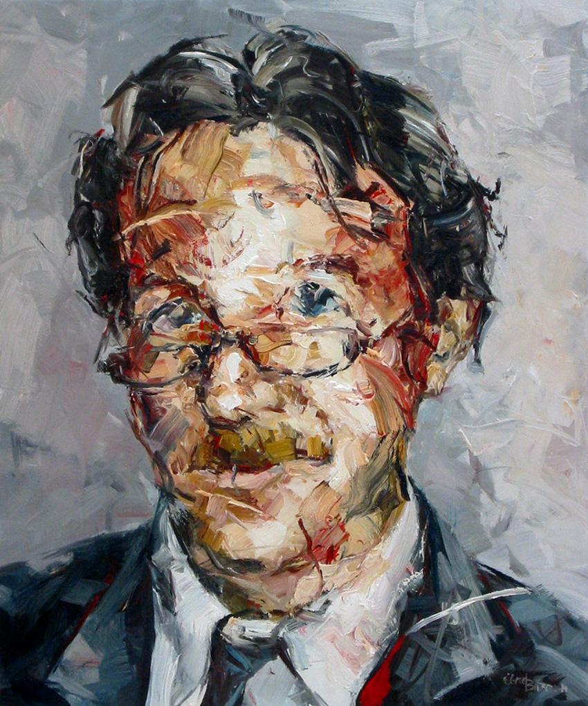 Auftragsarbeit · Portrait Dr. Marouche