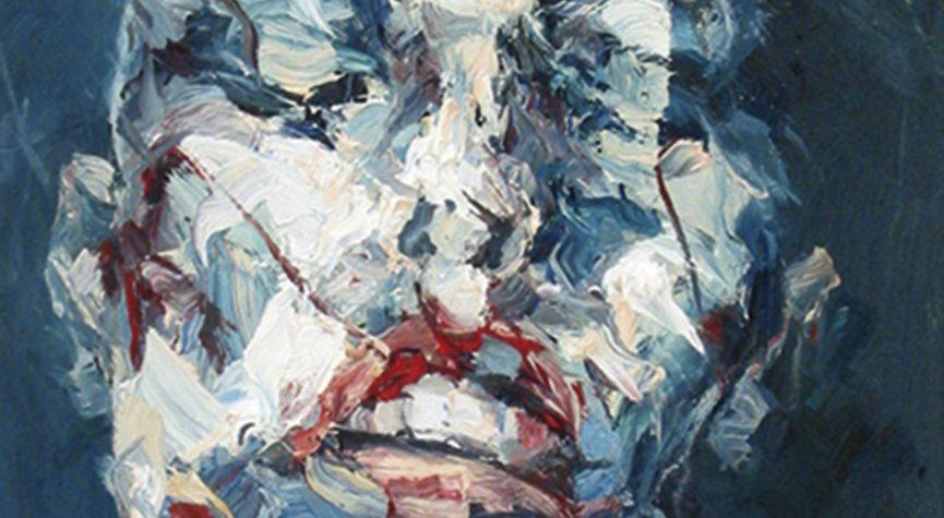 Körper: Kopf • 60 x 50 cm (Detail)
