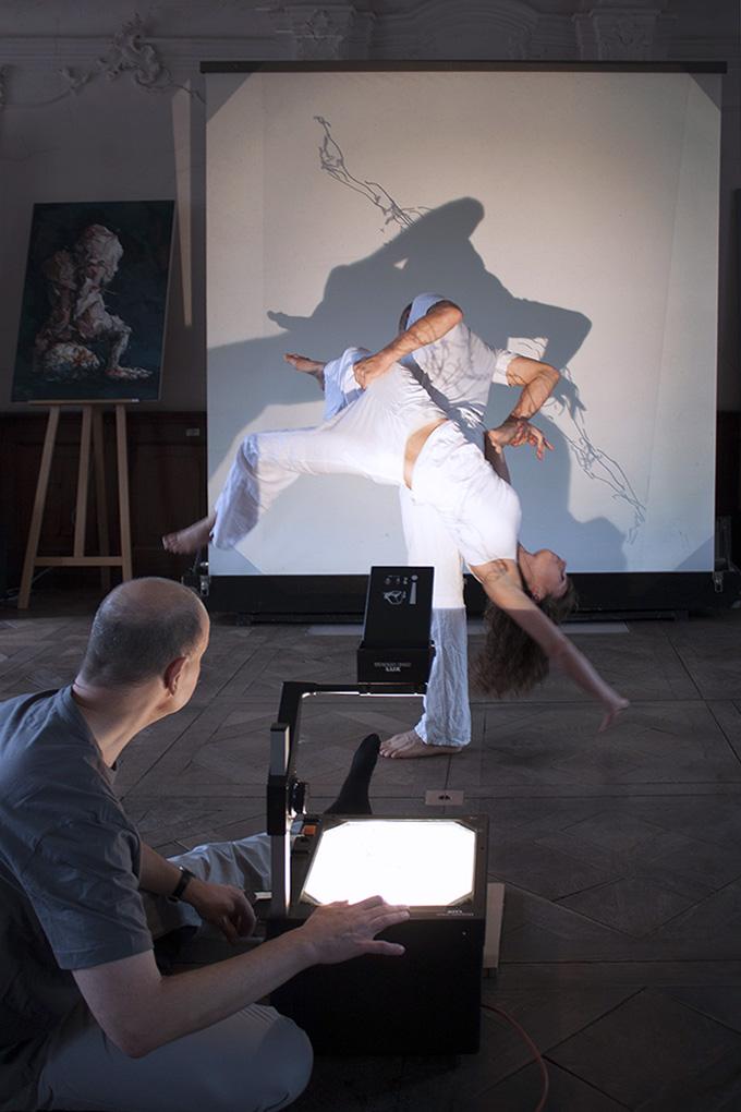 Performance: Eberhard Bitter, Esther Regler und Marcus Baierling