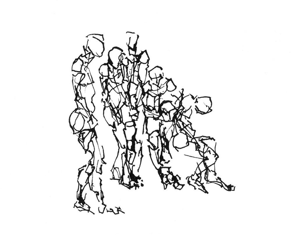Zeichnung zum Thema Förderkonzept