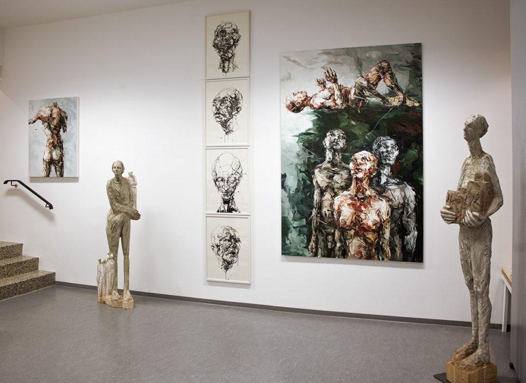 Galerien für Zeitgenössische Kunst: Raum 1: Einzelausstellung 2014