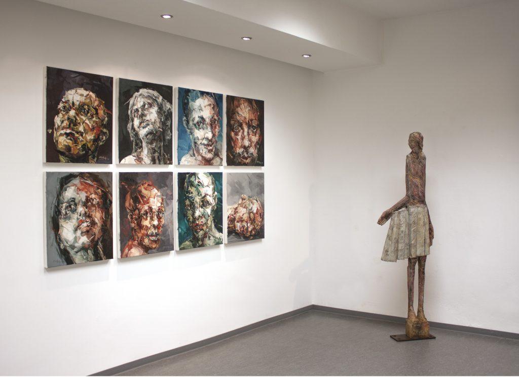 Galerien für Zeitgenössische Kunst: Raum 2: Einzelausstellung 2014