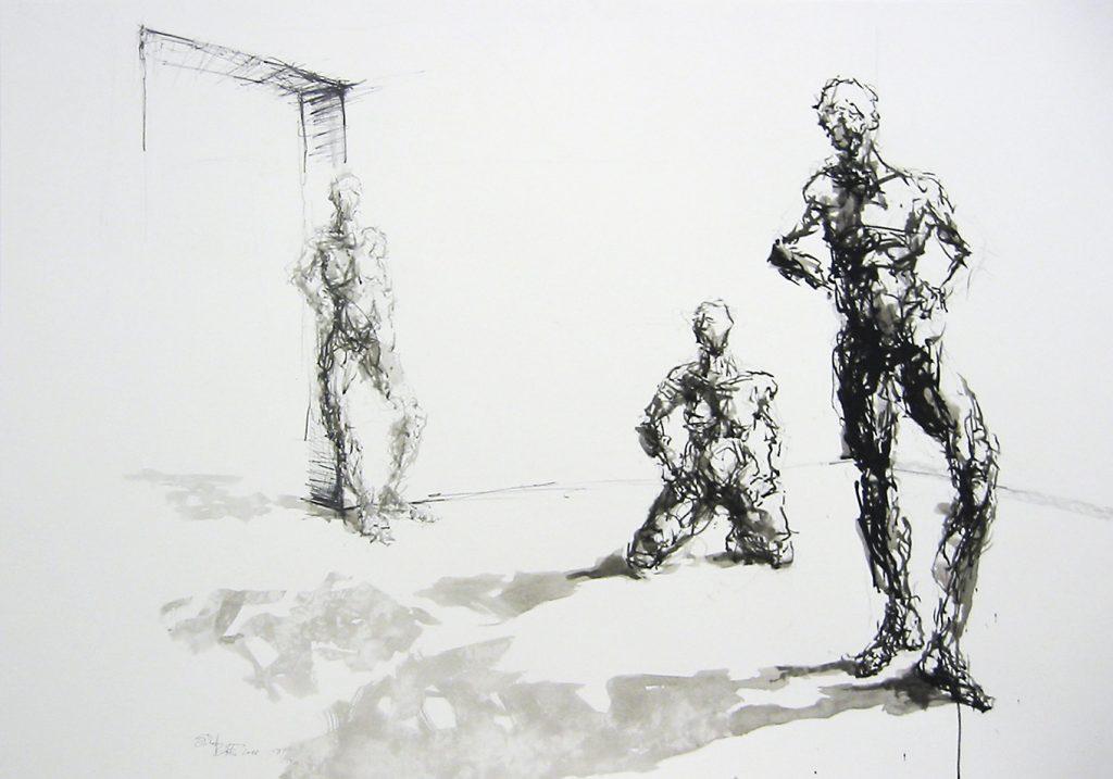 Zeichnungen · exemplarisch 100 x 70 cm