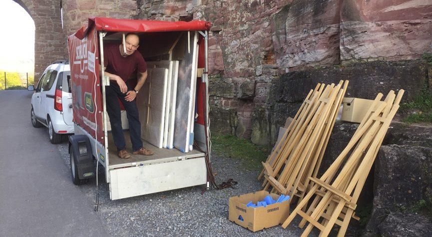 Blog: Abbau auf Burg Wertheim
