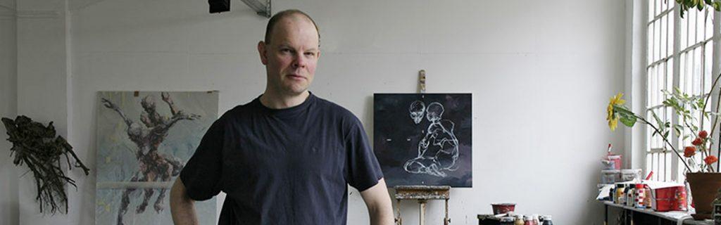 Impressum: Eberhard Bitter in seinem Atelier