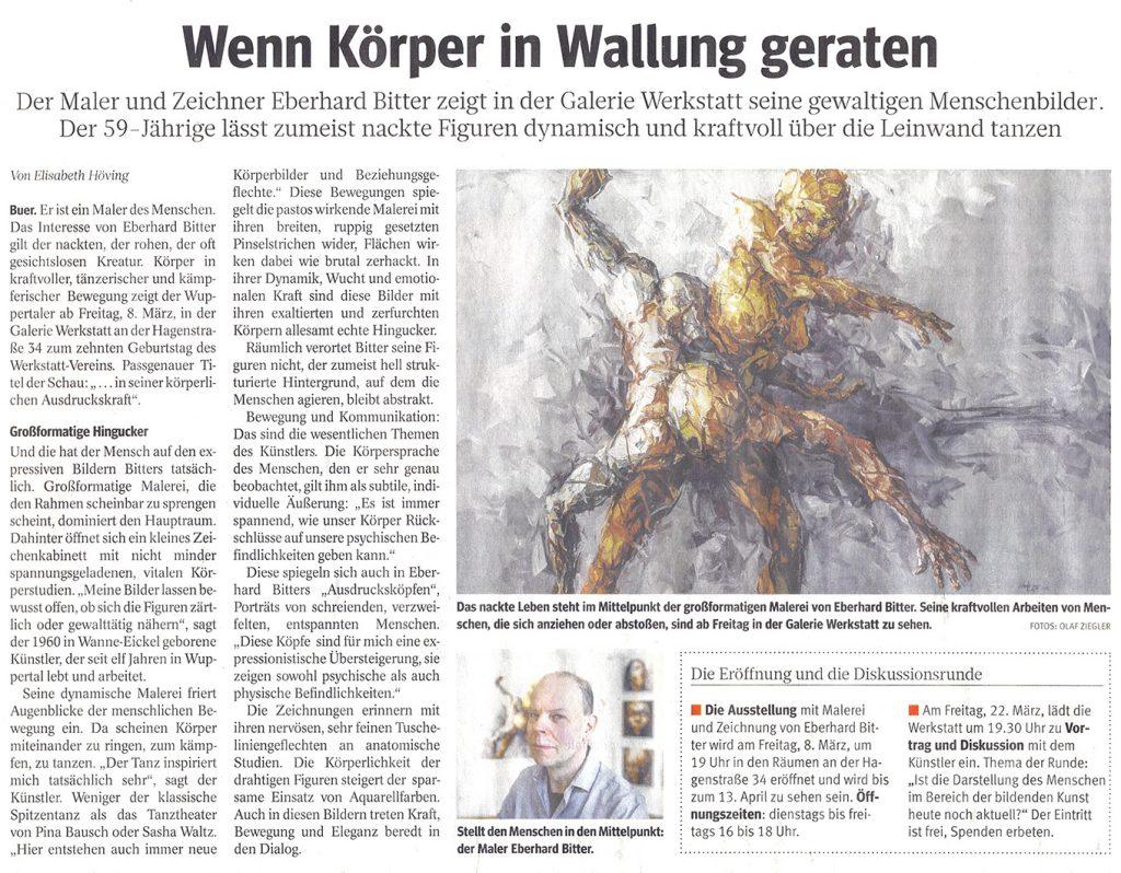 Ausstellung werkstatt Gelsenkirchen