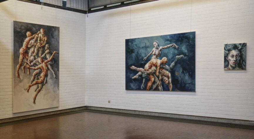 Malerei im Kunstverein Herford